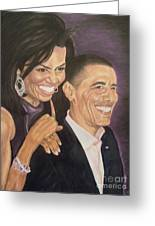 Ombience Of Love The Obama Greeting Card