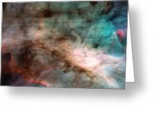 Omega Swan Nebula 1 Greeting Card