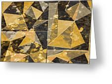 Omg Modern Triangles II Greeting Card