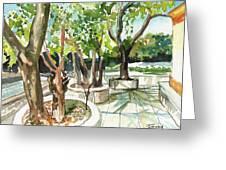 Omkareshwar Pune Greeting Card