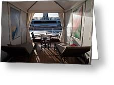 On Deck 6 Greeting Card