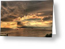 On Golden Bay Greeting Card
