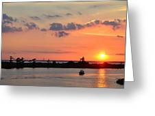 On Lake Maurepas Greeting Card