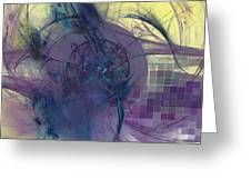 On Psychic Energy Greeting Card
