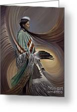 On Sacred Ground Series I Greeting Card