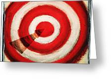 On Target Greeting Card by Don Hammond