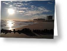 On The Beach Greeting Card