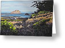 On The Coast Greeting Card
