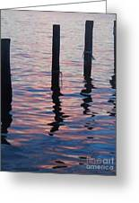 On The Dock Of The Bay Greeting Card