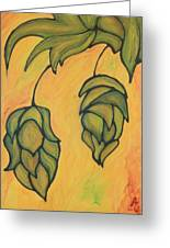 On The Hop Vine  Greeting Card