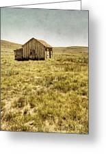 On The Prairie Greeting Card