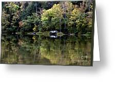 On The River Four Greeting Card