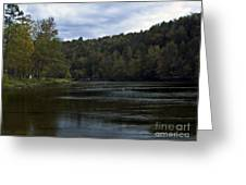 On The River Three Greeting Card