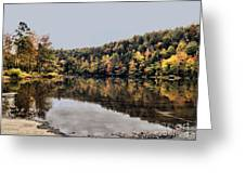 On The River Two Greeting Card