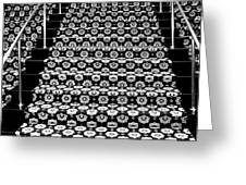 On The Riviera Stairs Palm Springs Greeting Card
