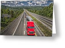 On The Road Again E61 Greeting Card