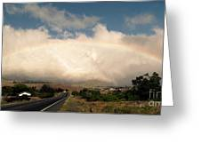 On The Road To Hilo Greeting Card