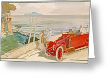 On The Road To Naples Greeting Card