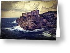 On The Rock - Dubrovnik Greeting Card