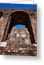 On The Ruins Of An Emipire Greeting Card