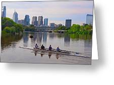 On The Schuylkill Greeting Card