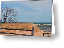 On The Shore Greeting Card