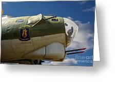On The Tarmac B-17g Greeting Card