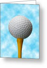 On The Tee Greeting Card