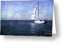 On The Water 3 - Venice Greeting Card