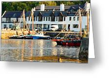 On The Waterfront Greeting Card