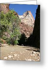 On The Way To The Narrows Greeting Card