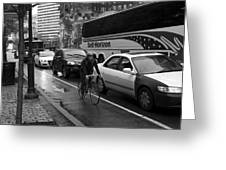 On The Wheels Greeting Card