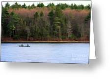 On Walden Pond Greeting Card
