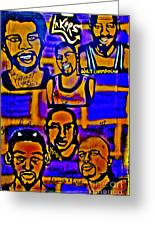 Once A Laker... Greeting Card by Tony B Conscious