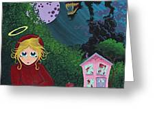 Once Upon A Time Greeting Card by Dan Keough