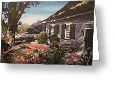 Onderdonk House Greeting Card by Victor SOTO