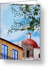 One Fine Day In Cuba Greeting Card