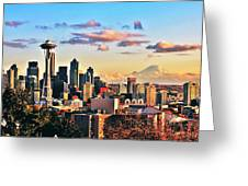 One Fine Skyline Greeting Card