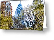 One Liberty Place Greeting Card