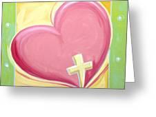 One Love Greeting Card