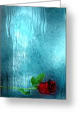 One Rose Left Greeting Card