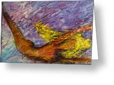 One Series 12 - Mermaid Blues Greeting Card