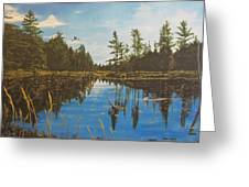 O'neal Lake Greeting Card