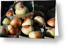 Onions 2 Greeting Card