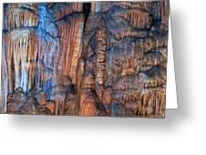 Onondaga Cave Detail Img 4270 Greeting Card