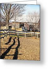 Ontario Farm Greeting Card