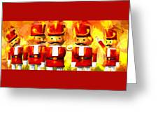 Onward Toy Soldiers Greeting Card