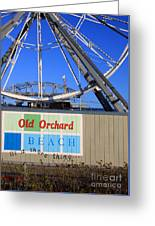 Oob- Its A Shore Wheel Greeting Card