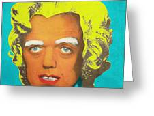 Oompa Loompa Blonde Greeting Card