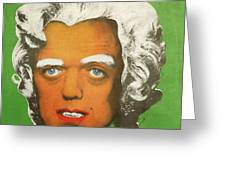 Oompa Loompa White  Greeting Card